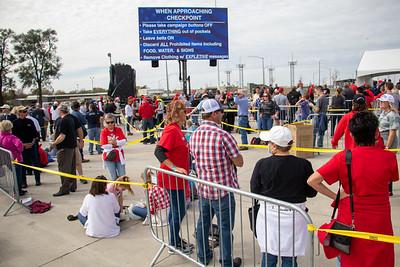 Donald J. Trump host Make America Great Again rally Des Moines, Iowa 10-14-2020