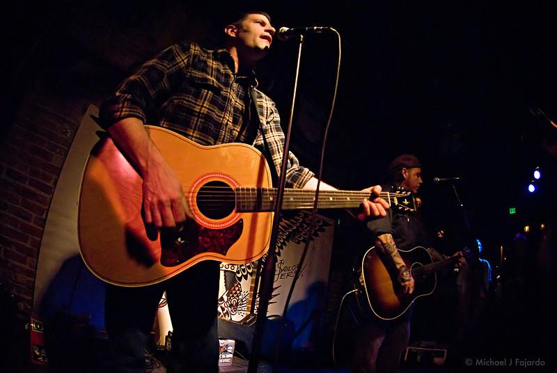 Tye Battistella and Brent Loveday of Reno Divorce Acoustic set at Scruffy Murphy's Irish Pub Denver, CO  March 10, 2011