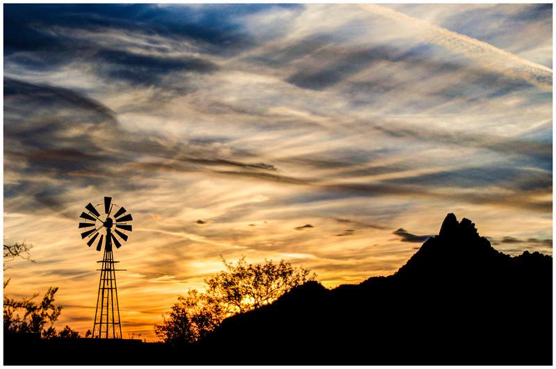 Pinnacle Sunset