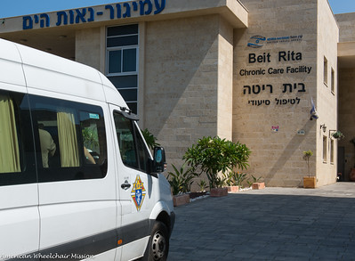 Delivery to Assisted Living Facility in Haifa