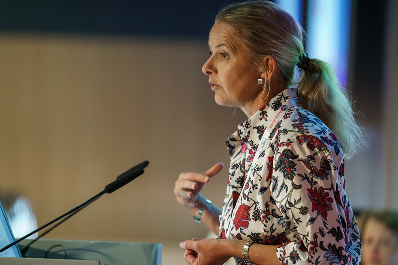22nd International AIDS Conference (AIDS 2018) Amsterdam, Netherlands.   Copyright: Matthijs Immink/IAS  Child Marriage & HIV Infection  Girls Not Brides, Netherlands   Photo shows (Speaker): Mable van Oranje