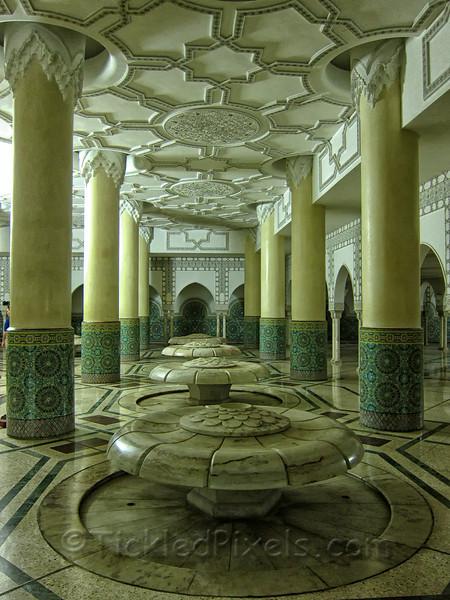 Fountains Beneath Mosque