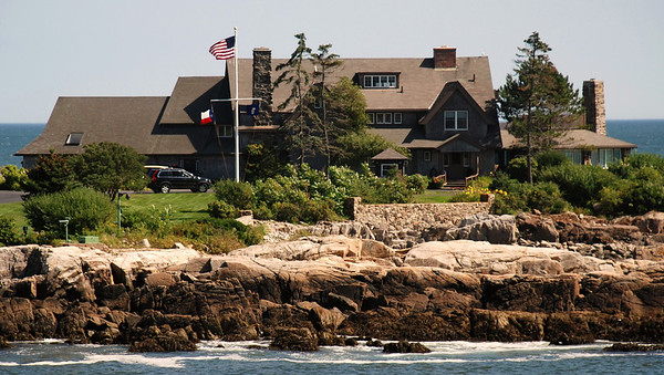 Kennebunkport, Maine - Pres. Bush compound