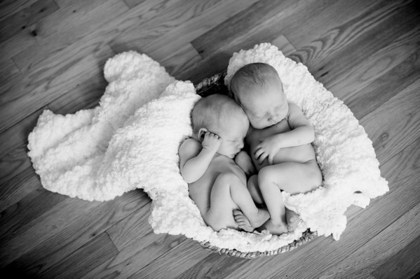Hicks Twins Newborns