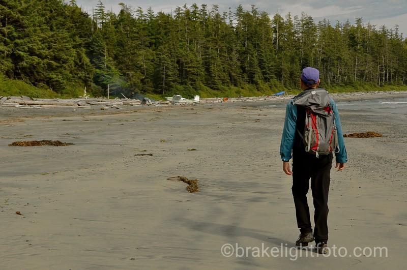 Beach near Calvin Creek, Nootka Island