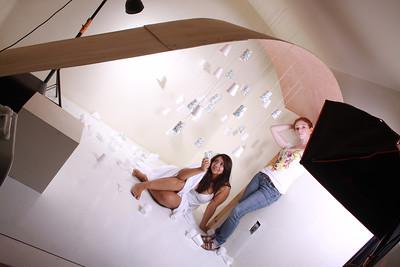 Phonebooth in Heaven shoot