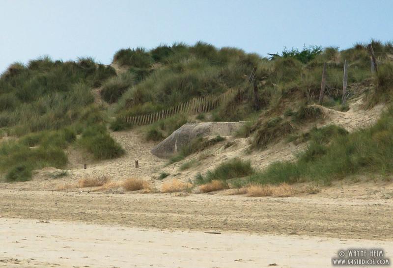 Normandy Beach Fence  Photography by Wayne Heim