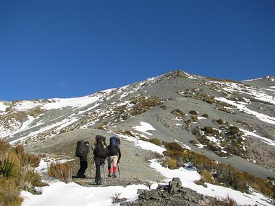 Clare Peak, 26-27 July 2010