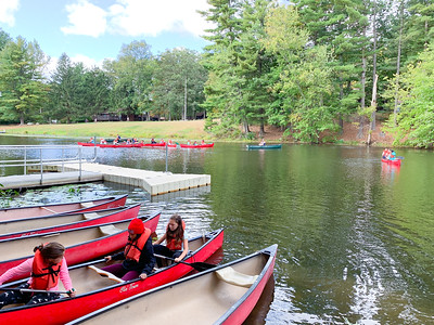 Fifth Grade Camp Mason Trip