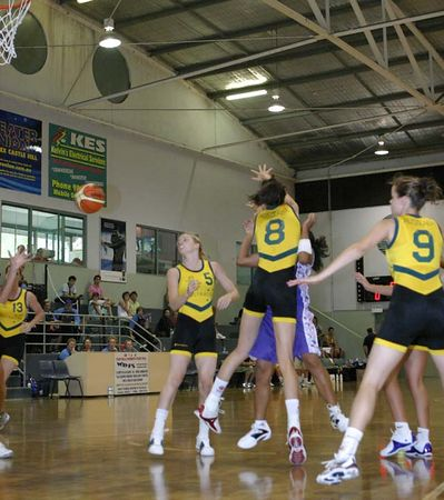 Youth Olympics-Sydney 2005 Australia Vs Oceania Women