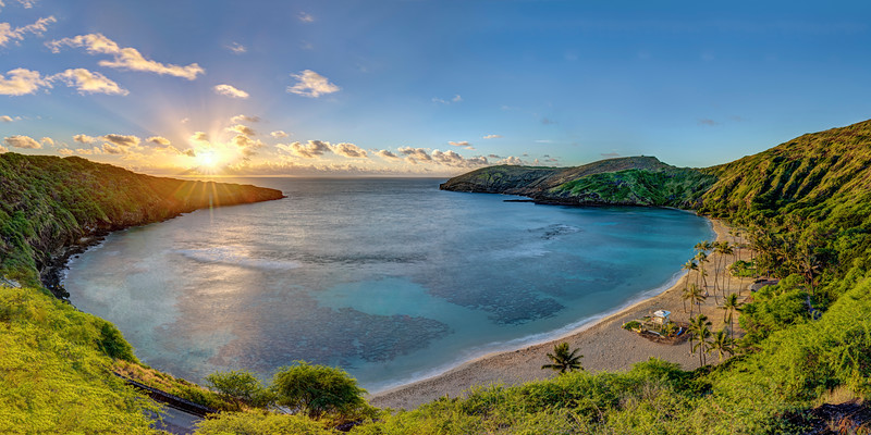 Hanauma Bay at Sunrise