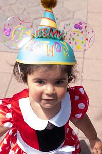 Yaya's second birthday
