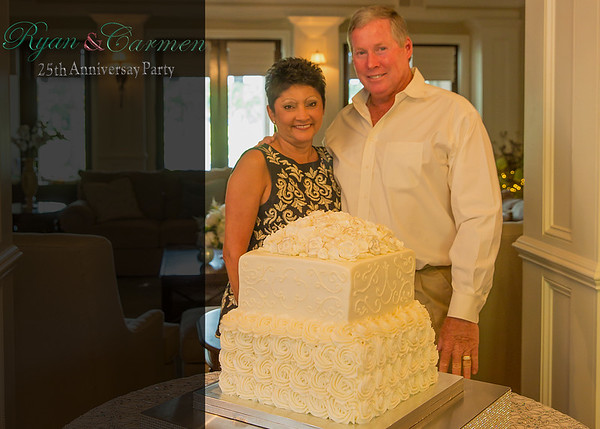 Ryan & Carmen 25th Anniversary Party