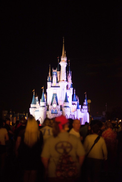 castle pre-fireworks