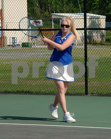 Marshall County High School Girls And Boys Tennis Action vs. Reidland - May 7, 2009.