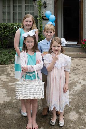 Morton Brooks arrives home on Easter Sunday