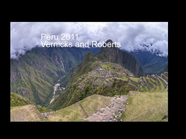 Peru 2011 Vernicks ProShow