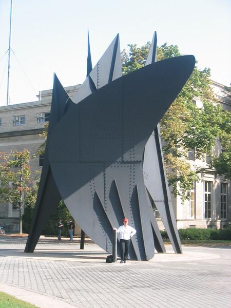 The Big Sail by Alexander Calder. M.I.T. Campus