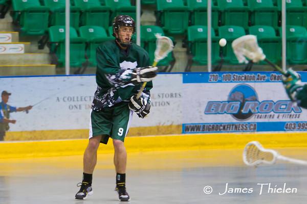Okotoks Ice vs Calgary Wranglers May 07, 2011
