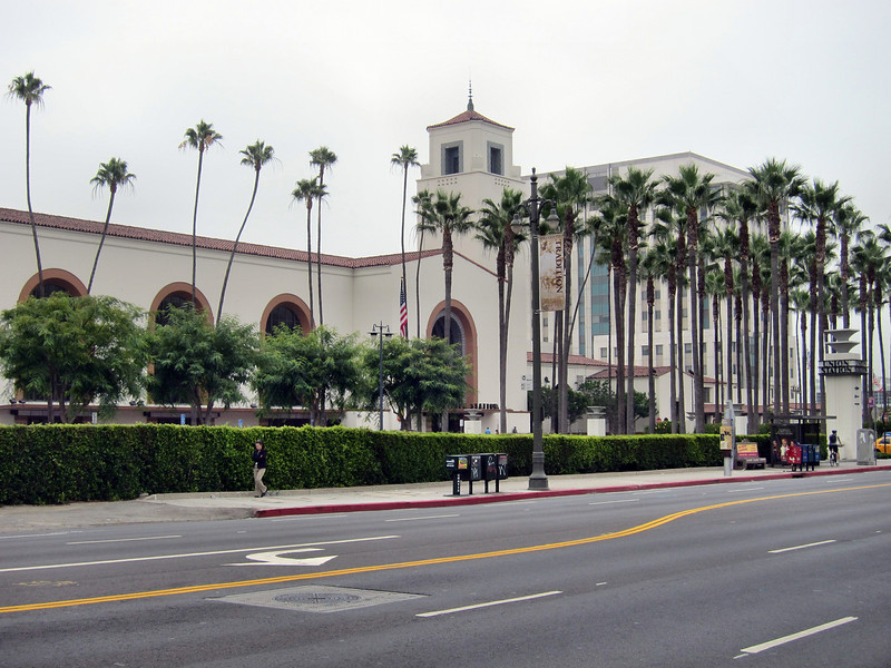 Amtrak's Pacific Surfliner to San Diego - Los Angeles Union Station