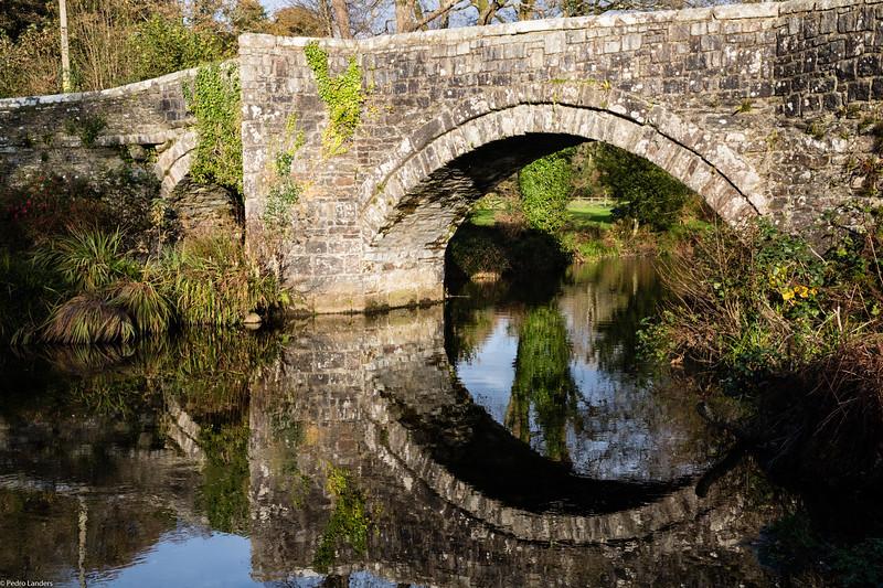 Huckworthy Bridge Reflection