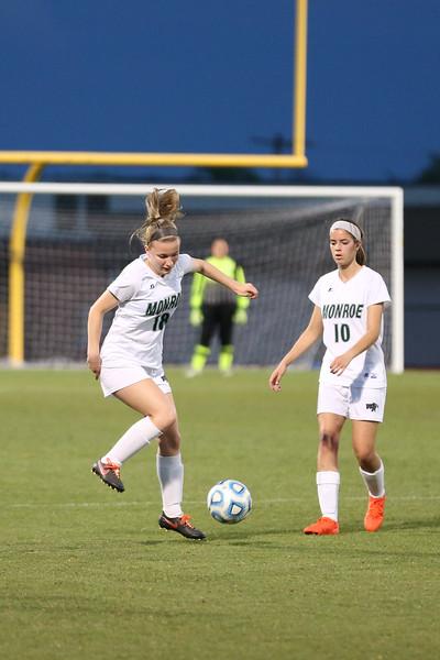Madison versus Monroe girls soccer 2017