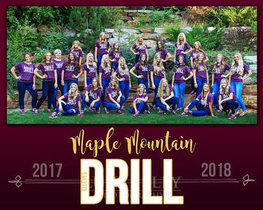 2017-2018 MMHS Drill Team