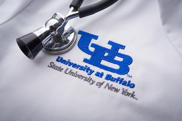 14224 Medicine, White Coat, Stethoscope, Stil Life