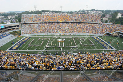 WVU vs Eastern Washington - Halftime - September 9, 2006
