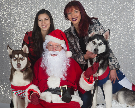 Rocket Dog Photos with Santa 2016