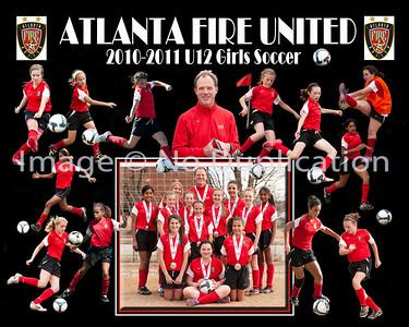AtlantaFireUnitedSilverPoster