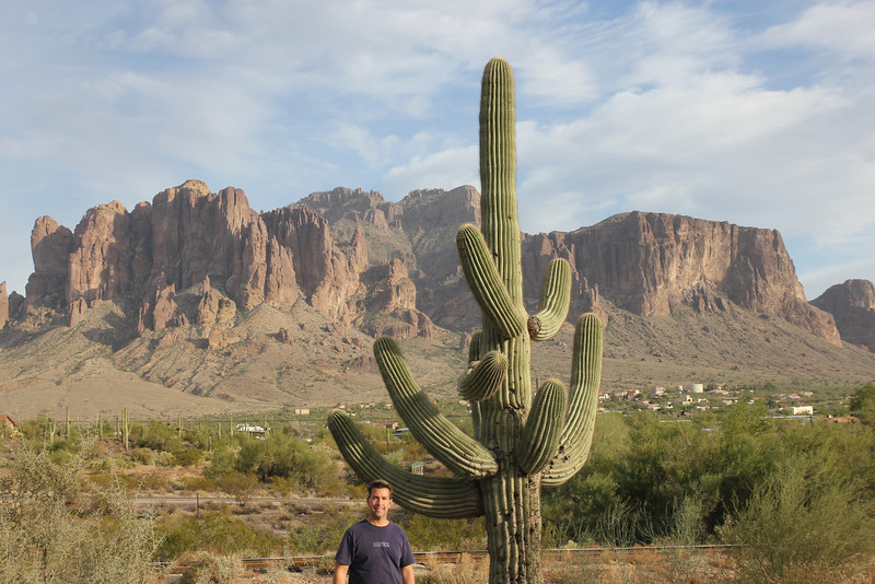Saguaro Cactus - So long Arizona we'll miss you!