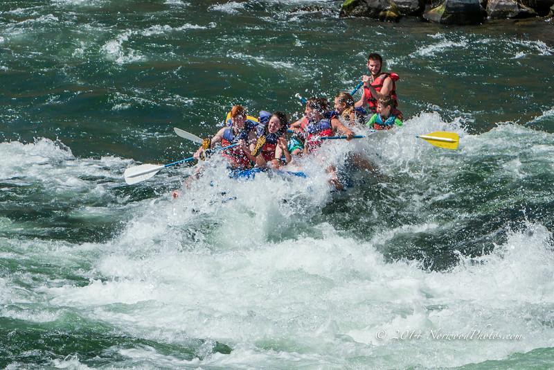 2014 Rafting the Deschutes