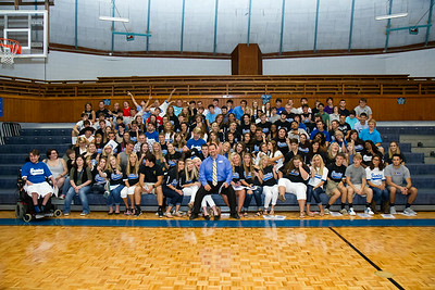2014/15 Seniors @ 1st Day of School!
