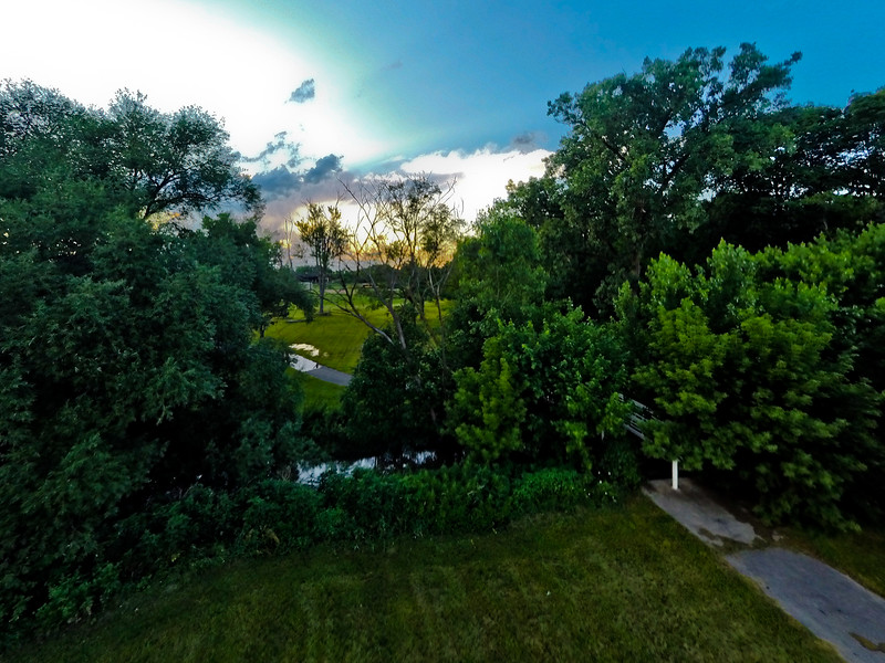 Summer Sunset at the Park 21 : Aerial Photography from Project Aerospace