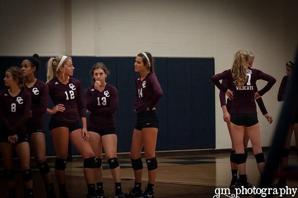 2012 Volleyball~~Varsity Lady Rangers