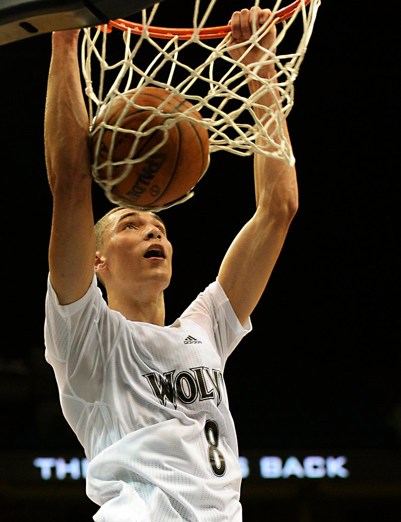 ". <p><b> Timberwolves rookie guard Zach LaVine made headlines over the weekend by � </b> </p><p> A. Winning a slam dunk contest in Seattle </p><p> B. Signing a lucrative shoe contract </p><p> C. Demanding a trade to Cleveland  </p><p><b><a href=""http://www.twincities.com/breakingnews/ci_26229667/video-wolves-rookie-zach-lavine-looks-like-slam\"" target=\""_blank\"">LINK</a></b> </p><p>   (Pioneer Press: John Autey)</p>"
