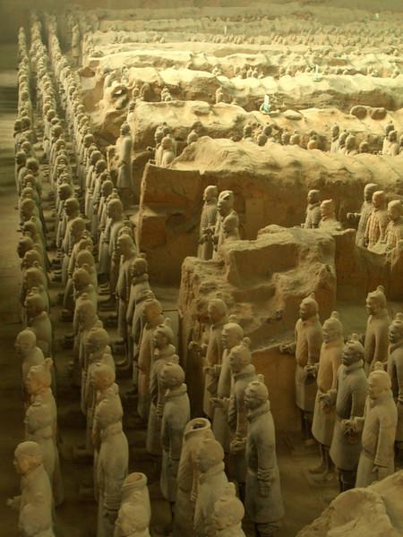Terra Cotta Warrior Statues - Xi'an, China