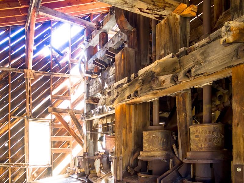 Interior of the Sound Democrat Mill