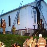 LANSFORD CHURCH FIRE 8-31-2009