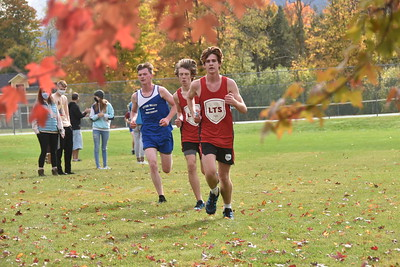 LTS Varsity X-C at Home photos by Gary Baker