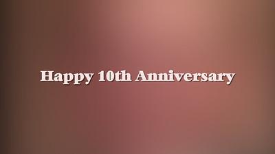 Happy 10th Anniversary-Heather & Chad