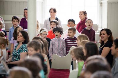 Kindergarten and Grade 1 Concert