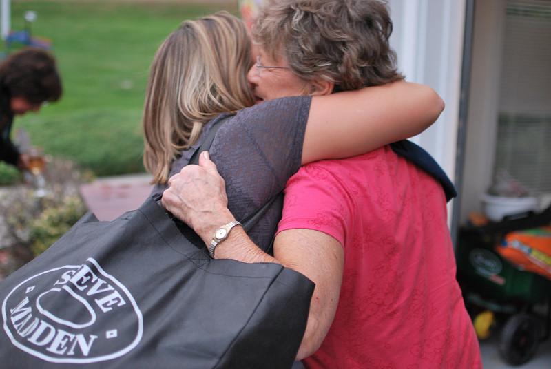 Hug for Grandma.
