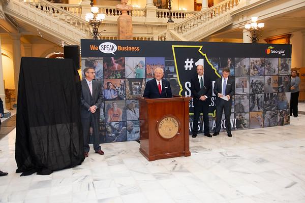 Georgia Economic Development at Capitol