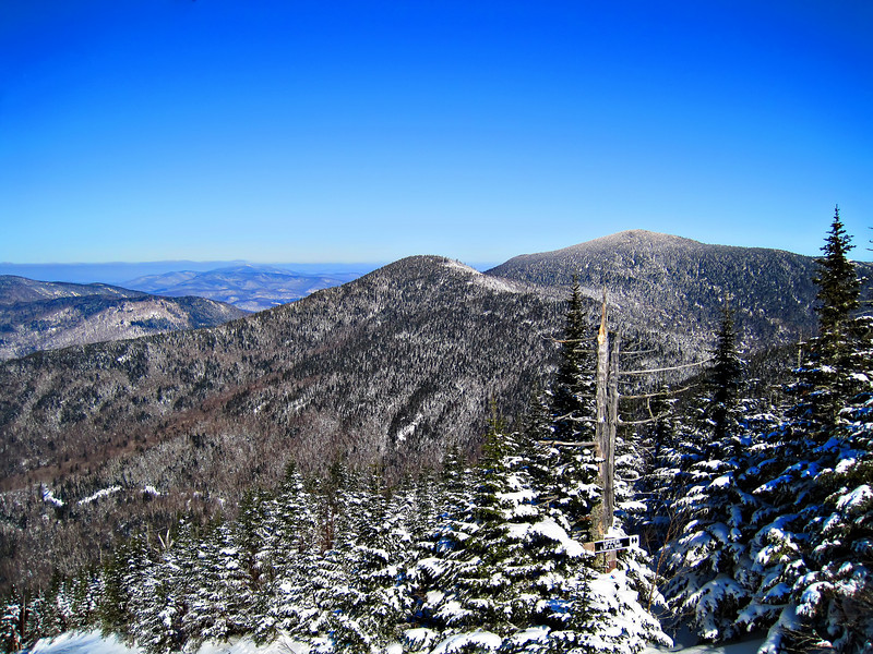 View from Smuggler's Notch, VT January 2009