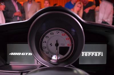 Ferrari 488 GTB Unveiling