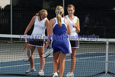 2011 Girls Tennis / Clyde