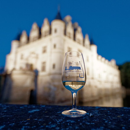 Dégustation sous les étoiles au château de Chenonceau