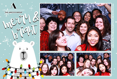 Adecco's Holiday Party